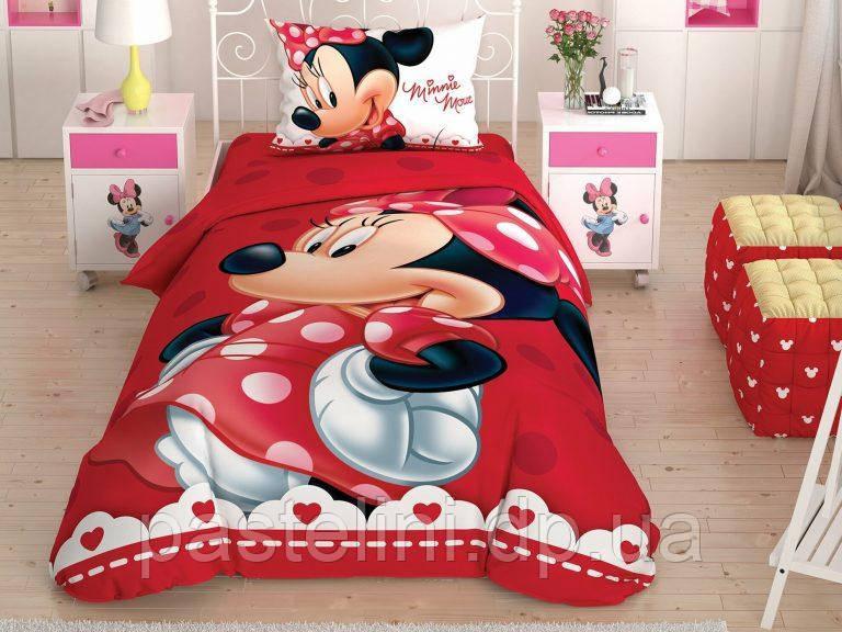 Детское постельное бельё TAC  Minnie Lovely Glitter