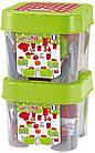 Игровой набор посуды Chef с продуктами в боксе , Ecoiffer 002603, фото 3