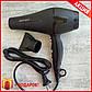 Мощный Фен для волос Gemei GM-1763 Матовый - Длинный шнур + Дорожный утюжок в Подарок, фото 2
