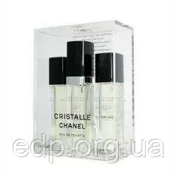 Chanel Cristalle - парфумована вода - 3x15 ml, жіноча парфумерія ( EDP10649 )