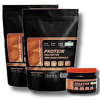 Идеально для работы на массу ! Протеин сывороточный 4 кг (креатин в подарок)