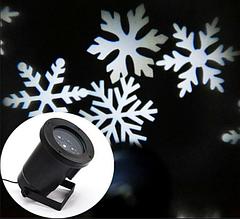 Новорічний лазерний проектор Star Shower СНІГ Криву 608 № ZP3