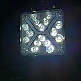 Фара диодная 48W дальний свет+ДХО, фото 3