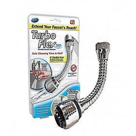 Гибкая насадка на кран для экономии воды Turbo Flex 360