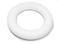 Пенопластовый круг для венка 30 см.