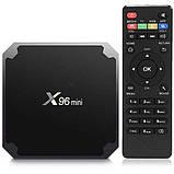 TV приставка Amlogic X96 MINI S905W, 1GB RAM, 8GB ROM, черная, фото 4