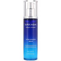 Высококонцентрированная сыворотка для лица с гиалуроновой кислотой Missha Super Aqua Ultra Hyalron Serum 50 мл