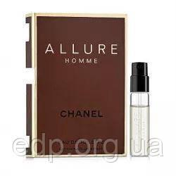 Chanel Allure Homme - туалетная вода - пробник (виалка) 1.5 ml, мужская парфюмерия ( EDP83850 )