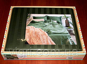 "Постельное белье, евро комплект, сатин страйп ""Stripe"", Вилюта «Viluta» VSS 81, фото 2"