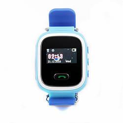 Фитнес-трекер для Детские смарт-часы GoGPS ME К11 Синий (К11СН)
