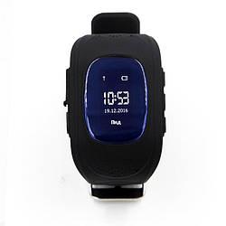 Фитнес-трекер для Детские смарт-часы GoGPS ME К50 Черный (К50ЧР)