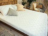 Наматрасник с бортами Leleka-Textile 180х200 белый, фото 2