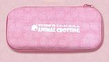 Тканевый чехол кейс Animal Crossing для Nintendo Switch + накладки на стики / Есть стекло, фото 2
