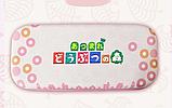 Тканевый чехол кейс Animal Crossing для Nintendo Switch + накладки на стики / Есть стекло, фото 3