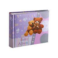 Фотоальбом Bear Violet 10×15см. на 100 фотографий