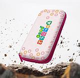 Тканевый чехол кейс Animal Crossing для Nintendo Switch + накладки на стики / Есть стекло, фото 9