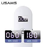 Ультрафіолетовий дезінфектор, портативний стерилізатор USAMS US-ZB159, білий, фото 4