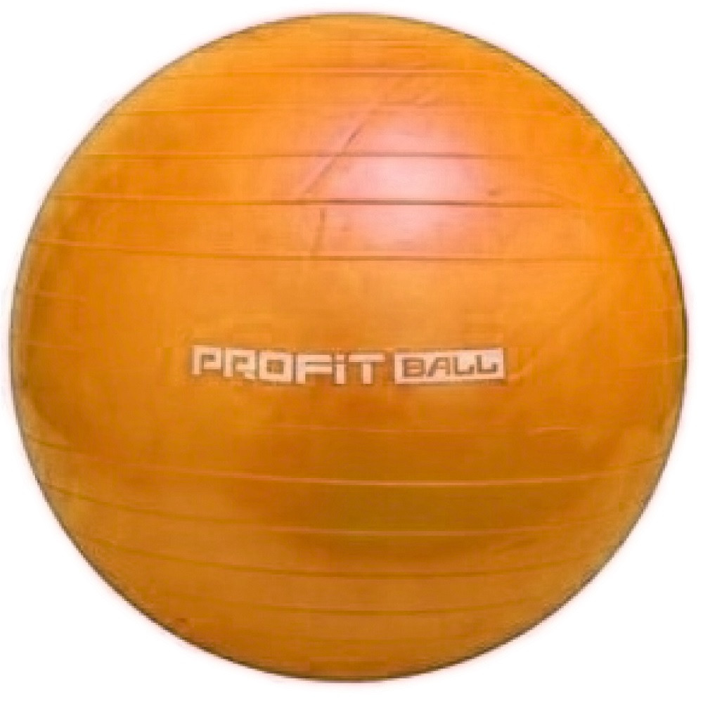 М'яч для фітнесу Фітбол Profit 0382, помаранчевий