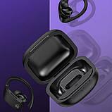 Наушники беспроводные Bluetooth USAMS US-YI001 в кейсе, черные, фото 5