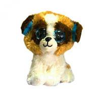 """Мягкая игрушка """"Глазастик: собачка"""", мягкие игрушки,животные резиновые,игрушка мир животных,игрушки животных"""