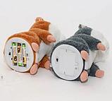 Говорящий хомяк-повторюшка, Мягкая игрушка повторяет слова, Говорящая игрушка для детей, фото 2