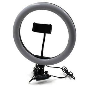 Лампа кільцева світлодіодна USB Ring Light 7305, 26 см