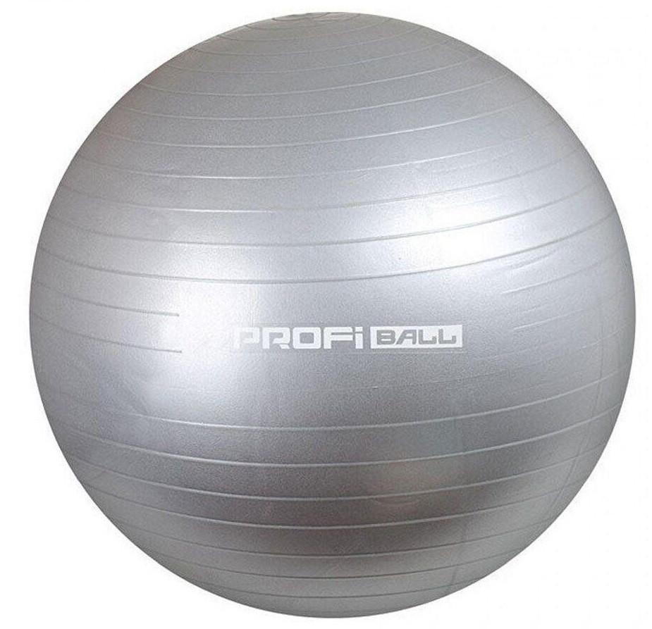 М'яч для фітнесу Фітбол MS 1541, 75см, сірий