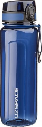 Бутылка для воды UZSPACE U-type 6019 750 мл, синяя