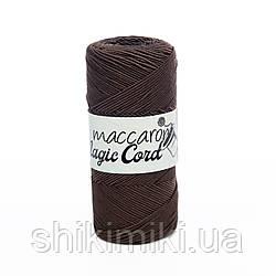 Шнур сутажний Maccaroni Magic Cord, колір Коричневий