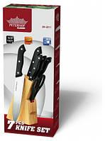 Набор ножей Peterhof SN-2211, кухонные ножи. столовые ножи. подставки для ножей, фото 1
