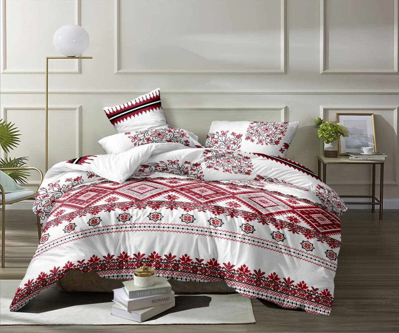 Семейное постельное белье-вышиванка