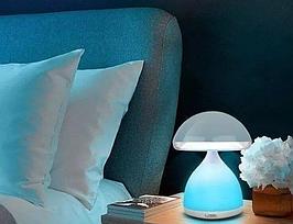 Настольный светильник HUIAN HC-868 Colorful EYE mushroom lamp LED USB 7 color