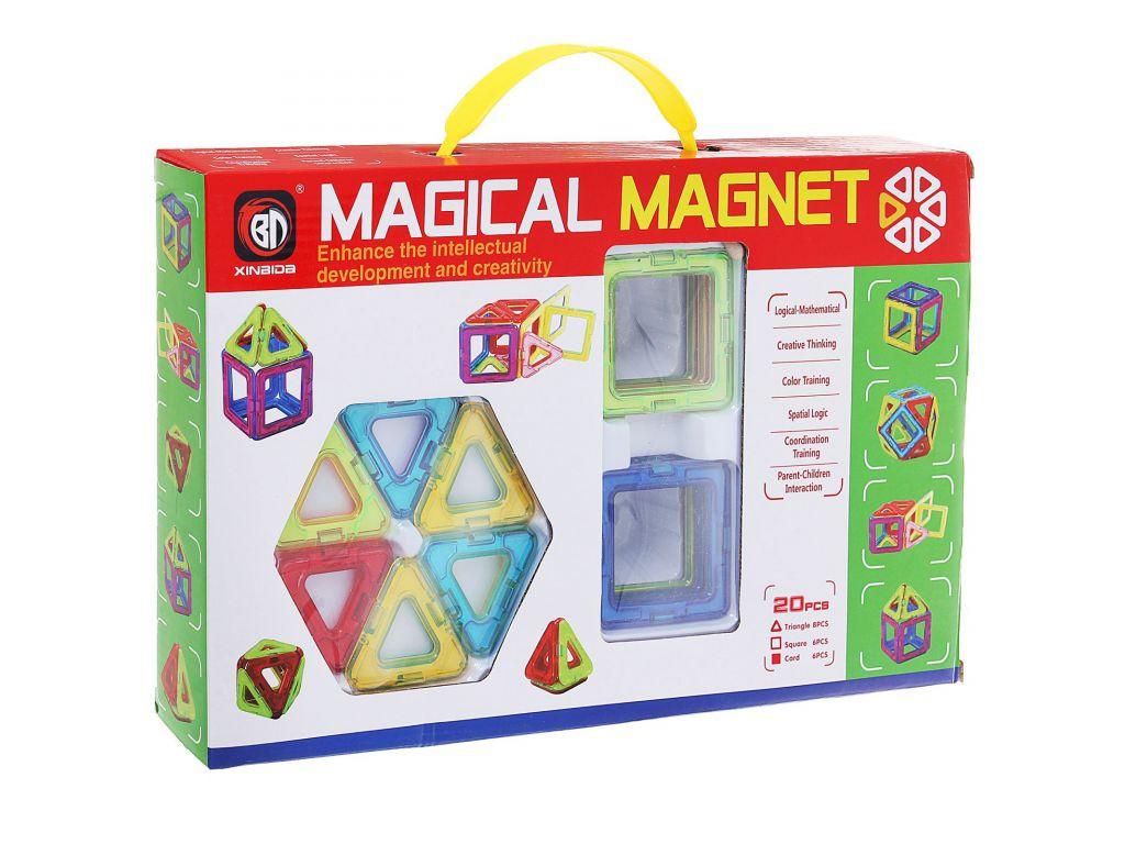 Магнитный конструктор Magical Magnet 20 деталей. Maya Toys 701