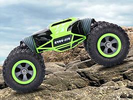 Трюковый BigFoot Rock Crawler на р/у, 48 см, UD2168A   Масштаб 1:10   Зеленого цвета