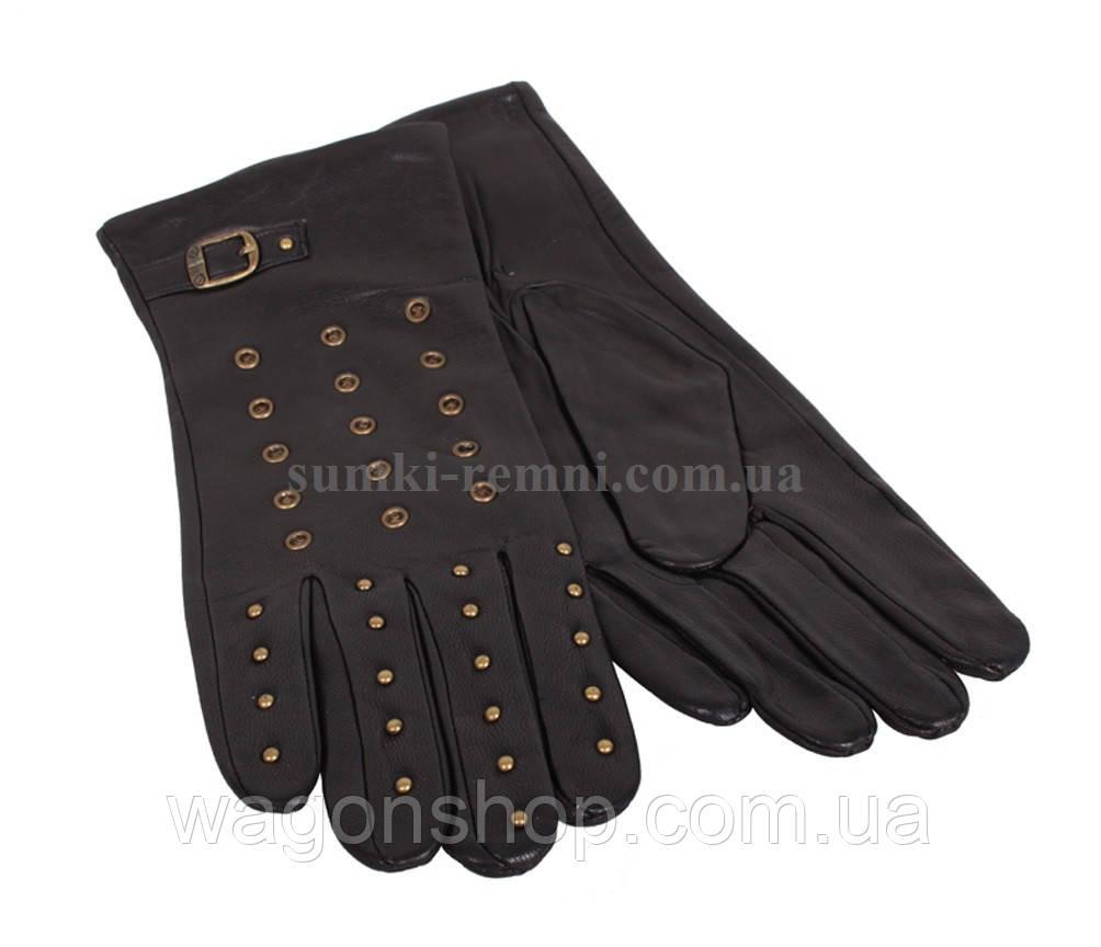 Женские перчатки кожаные фирменные