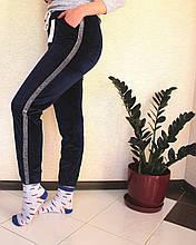 Лосіни жіночі спорт 9627-5 (упаковка 3 шт) Велюр
