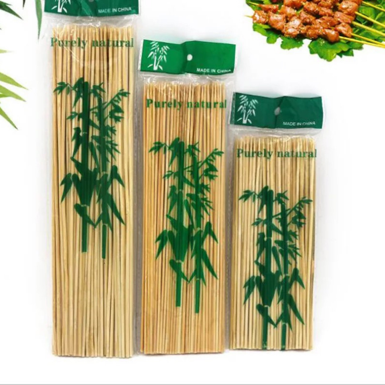 Шпажки бамбукові 300 мм (100 шт.)