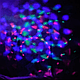 Светодиодный ночник, диско шар снеговик, фото 3