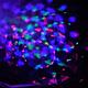 Світлодіодний світильник-нічник, диско куля сніговик, фото 3