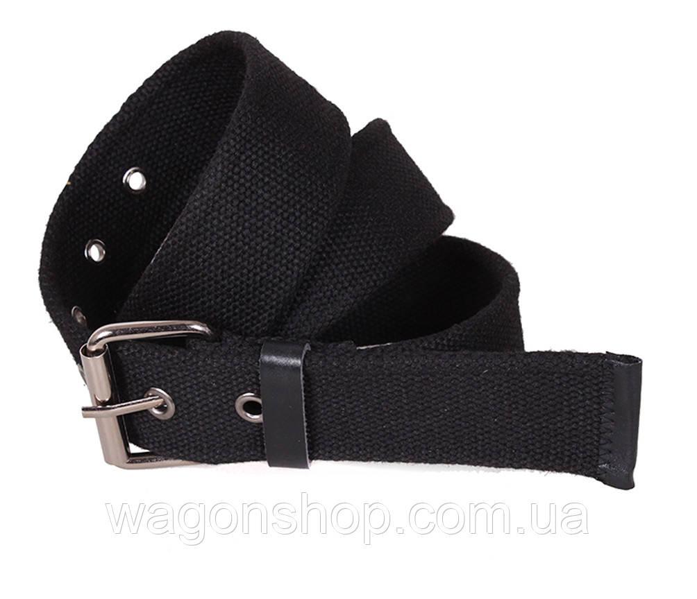 Чорний текстильний ремінь YK004-2704