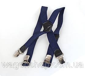 Подтяжки мужские Dovhani P003-3DBLUE Синие