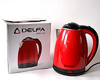Чайник электрический Delfa DK 3500 X Red (1.8 л)