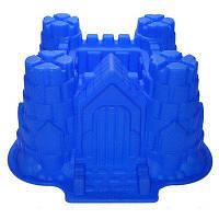 """Форма силиконовая кондитерская для выпечки фигурная 3D """"Замок-крепость"""" 28,5 * 13 * 25 cm"""