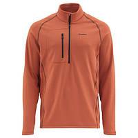 Блуза Simms Fleece Midlayer Top Simms Orange M