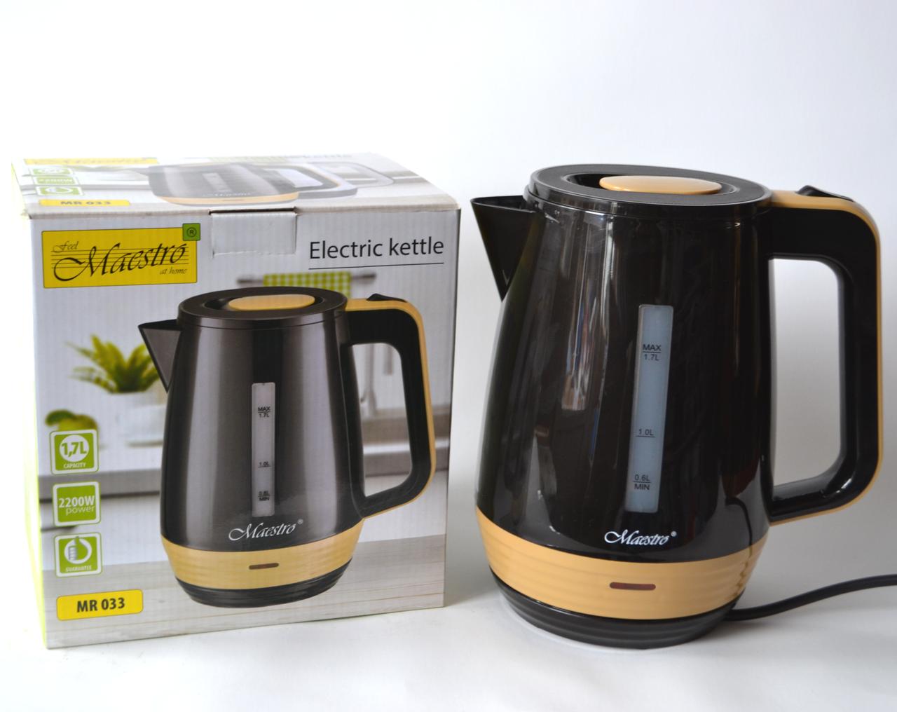 Чайник электрический Maestro MR 033 (1.7 л)
