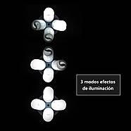 360/1800Вт Набор постоянного света LD 5070-4 (софтбоксы 50x70см на 4 лампы) Double Kit, фото 7