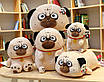 Мягкая игрушка мопс плюшевая антистресс, фото 7