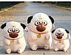 Мягкая игрушка мопс плюшевая антистресс, фото 6