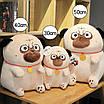 Мягкая игрушка мопс плюшевая антистресс, фото 2