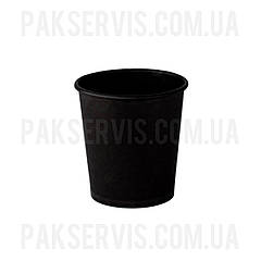 Стакани паперовий TOTAL BLACK 110мл, 50шт. 1/80